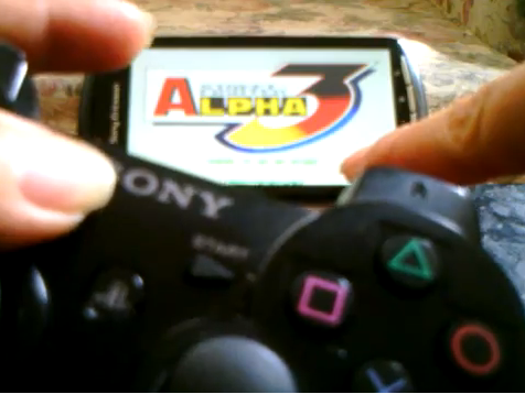 Xperia PLAY Sixaxis