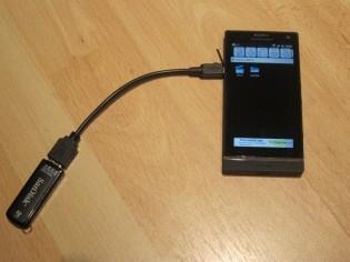 Xperia S USB OTG
